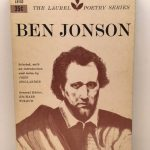 Ben Jonson (The Laurel Poetry Series)
