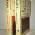 Anthologie poétique française, Moyen Âge (2 volumes); tomes 1 et 2. Collection : Garnier-Flammarion, No. 153 et 154.