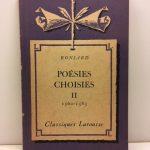 Poesies Choisies - II, 1560-1585