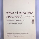 The Chaucer Review : Journal of Medieval Studies and Literary Criticism. Vol. 34 / No. 4