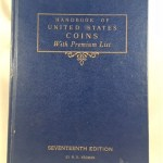 1960 Handbook of United States Coins with Premium List -- 17th Edition