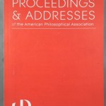 Proceedings and Addresses of The American Philosophical Association, Vol. 87, November 2013