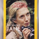National geographic magazine October 2017 Jane Goodall Cover