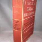 A History of Greek Philosophy Vol.II: The Presocratic Tradition from Parmenides to Democritus.