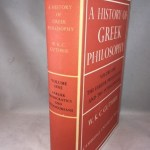A History of Greek Philosophy, Vol. I: The Earlier Presocratics and Pythagoreans