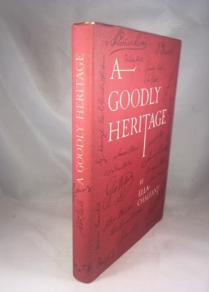 A Goodly Heritage: Earliest Wills on an American Frontier
