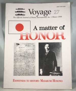 Voyage 27 The Official Journal of Titanic International [Winter 1998]