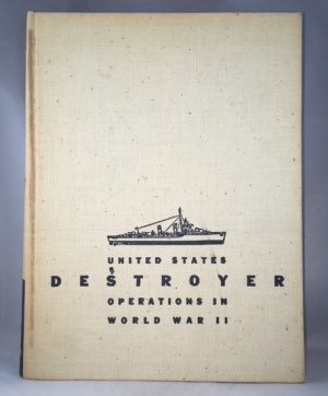 United States Destroyer Operations In World War II