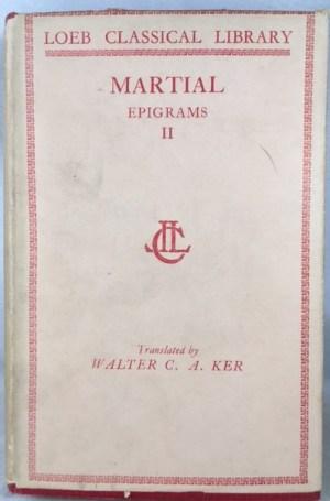 Epigrams [2 vols., Loeb Classical Library]