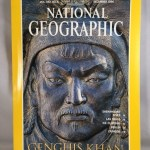 Genghis Khan: National Geographic, Vol. 190, No. 6. December 1996