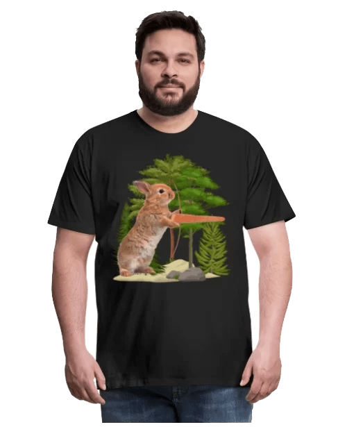 Anti-Vegan Hasen Jagd GERATI Merch