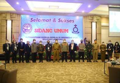 Buka Sidang Umum VI Persekutuan Gereja-Gereja Indonesia Wilayah Lampung, Gubernur Arinal Ajak Para Pengurus Menjaga Kondisi Daerah yang Harmonis, Damai dan Tenteram