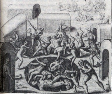 Konquista, Mord