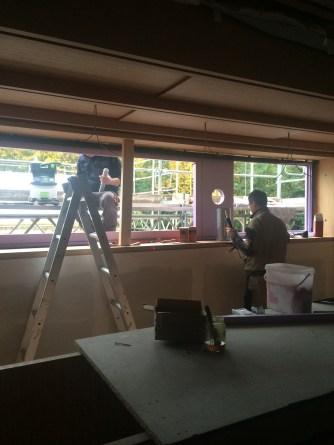 Panoramafenster in der Galerie des Bauteiles A