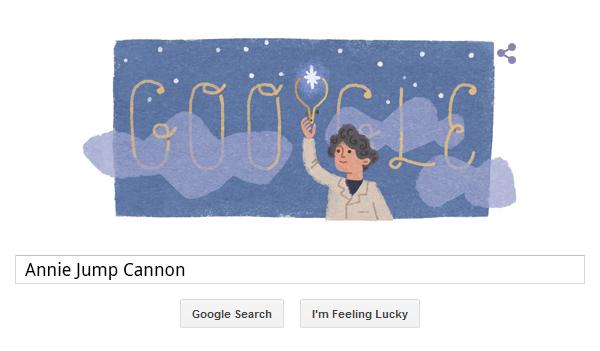 Annie Jump Cannon (Google Doodle)