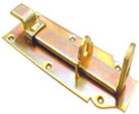 Hangslotschuif 12cm met bocht