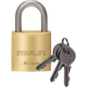 Stanley 81100 371 401 Hangslot 20 mm Sleutelslot