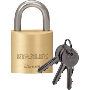 Stanley 81101 371 401 Hangslot 25 mm Sleutelslot