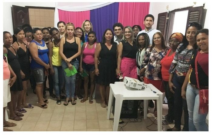 Mulheres participam de atividades em Cururupu