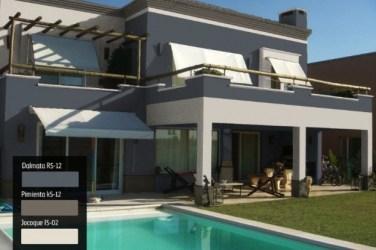 fachada casas colores fachadas casa exterior pintar comex tu pintura pintadas modernas exteriores elegantes diferente colors idea metroscubicos hogar moderna