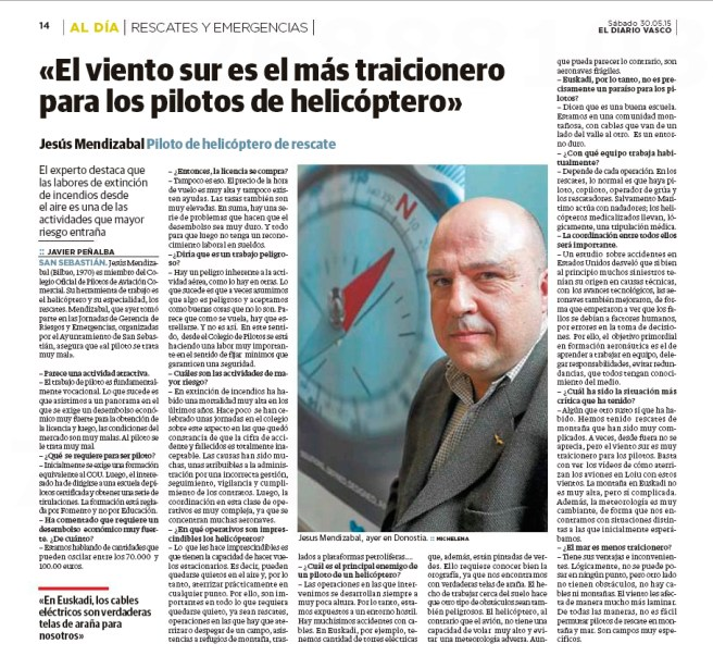Joseba Mendizabal, COPAC