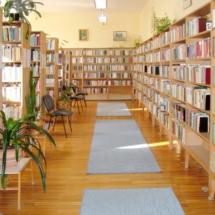 könyvtárbelső
