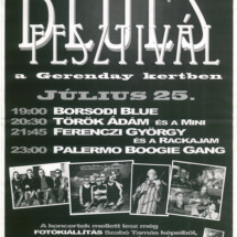 Blues plakát