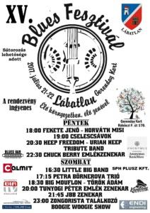Blues Fesztivál plakát 2017