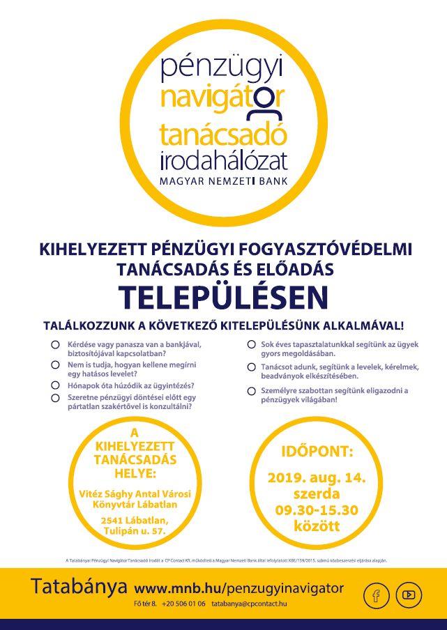 Pénzügyi Navigátor plakát