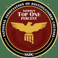 Emblem of National Association of Distinguished Counsel