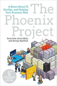 Book cover of The Phoenix Project