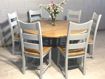 liberty round dining table