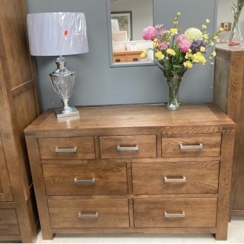 oslo wide chest of drawers