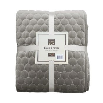 Scatter Box Halo Bedspread, Taupe