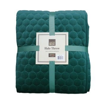 Scatter Box Halo Teal Bedspread