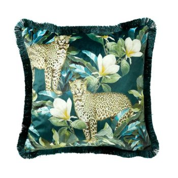 Scatterbox Cougar Teal/Green Cushion 45x45cm
