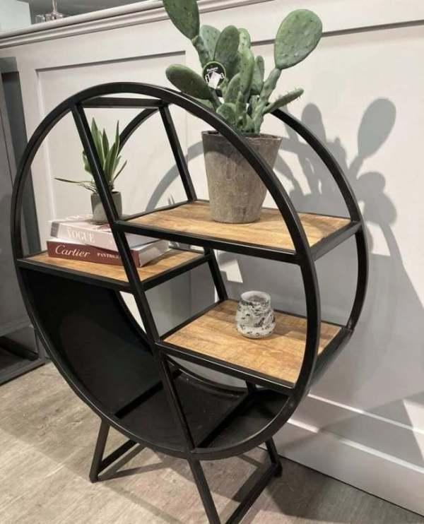 The Round bookcase