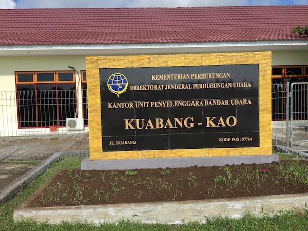 Bandar Udara Kuabang di Kao. Kredit: avivah Yamani