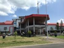 Kantor Bupati Halmahera Barat. kredit: Avivah Yamani