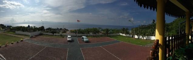 Arah Timur Halaman Kesultanan Tidore. Kredit: Avivah Yamani