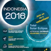 2016 Indonesia Total Solar Eclipse Astronomy Volunteer Outreach Program
