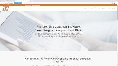 Com@Work - Ihr Computerspezialist in Frankfurt am Main