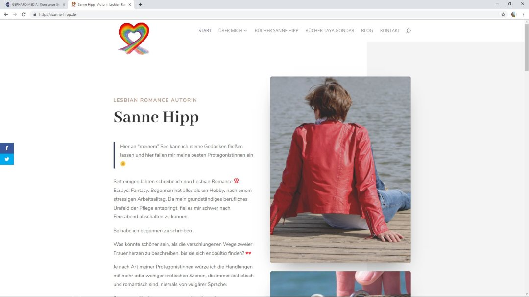 Sanne Hipp | Autorin Lesbian Romance