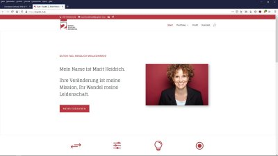 Website Marit Heidrich, Kapitel 2, Wandel, Beratung, Moderation, Kiel