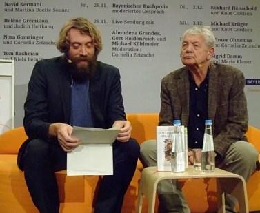 KULTURFORUM Eckhard Henscheid @ B2-Diwan, Literaturfest München 2014-12-02 (3)