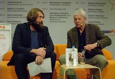 KULTURFORUM Eckhard Henscheid @ B2-Diwan, Literaturfest München 2014-12-02 (6)