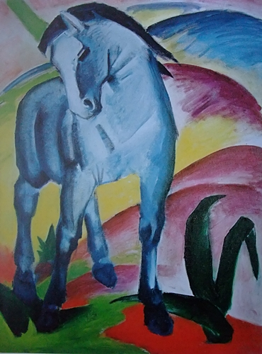 KULTURFORUM Franz Marc Blaues Pferd I 1911 (3)