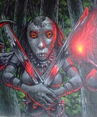 KULTURFORUM Graffiti Screaming Tribesmen (2)