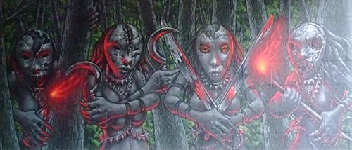 KULTURFORUM Graffiti Screaming Tribesmen (5)