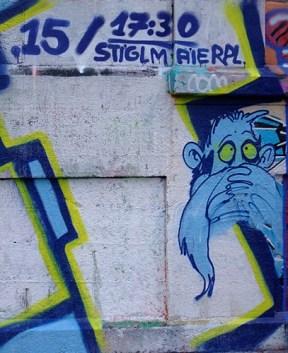 KULTURFORUM Klagemauer Graffiti (4)